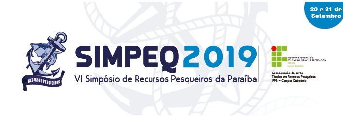 Simpeq 2019 - Simpósio de Recursos Pesqueiros da Paraíba